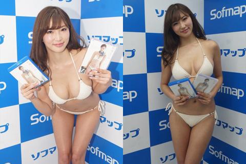グラドル・松嶋えいみ、新作で割れ目が見えるセクシーショット!!